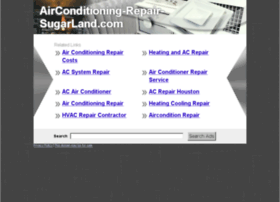airconditioning-repair-sugarland.com