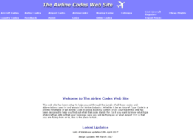 airlinecodes.co.uk