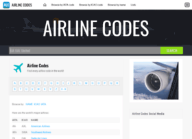airlinecodes.info