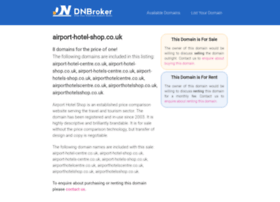 airport-hotel-shop.co.uk