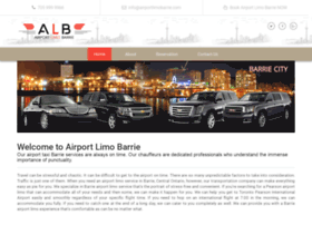 airportlimobarrie.com