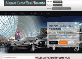 airportlimotaxitoronto.com