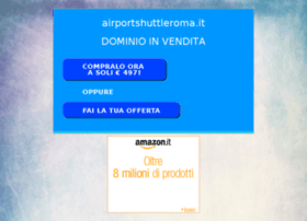 airportshuttleroma.it