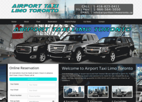 airporttaxilimotoronto.ca