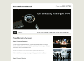 airporttransfersnuneaton.co.uk