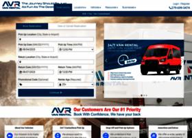 airportvanrental.com