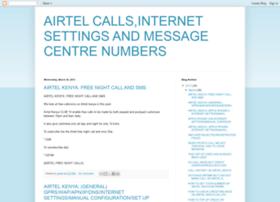 airtelcallinternetsettings.blogspot.com