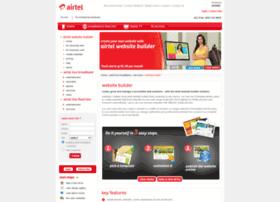 airtelwebsitebuilder.com