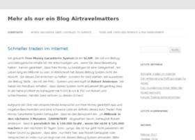 airtravelmatters.com
