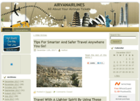 airvanairlines.com