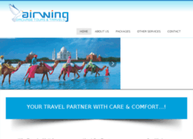 airwingpackagetours.com