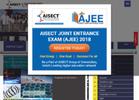 aisectuniversity.ac.in
