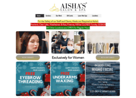 aishassalonandspa.com