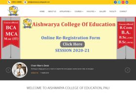 aishwaryacollegepali.com