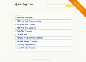 aj-learning.com