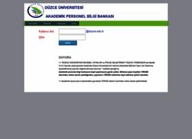 akademikpersonel.duzce.edu.tr
