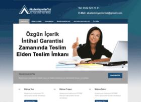 akademisyenlertez.com