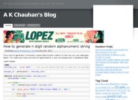 akchauhan.com