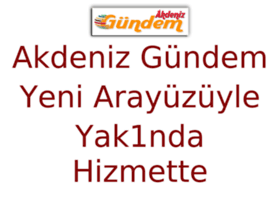 akdenizgundem.com