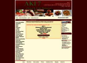 aki7restaurant.com