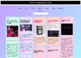 akihikomatsumoto.com