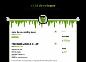 akkideveloper.wordpress.com