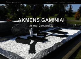 akmens-gaminiai.com