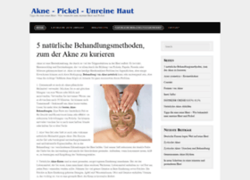 akne-pickel-unreine-haut.de