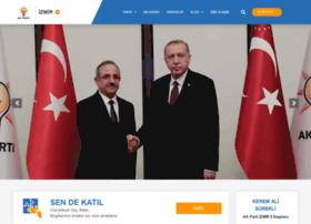 akpartiizmir.org.tr
