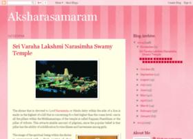 aksharasamaram.blogspot.in