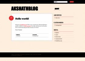 akshathblog.wordpress.com