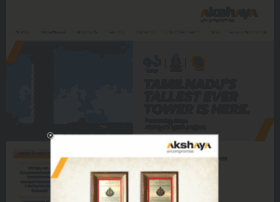 akshayahomes.com