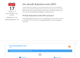 aktuelle-kalenderwoche.com