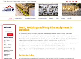 aladdinspartyhire.com.au