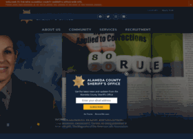 alamedacountysheriff.com