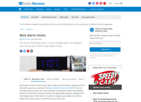 alarm-clocks-review.toptenreviews.com