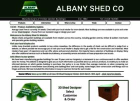 albanysheds.co.uk