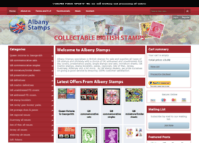 albanystamps.co.uk