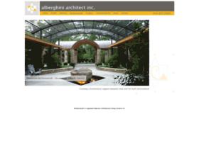alberghiniarchitect.com