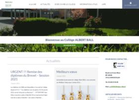 albert-ball-annoeullin.savoirsnumeriques5962.fr