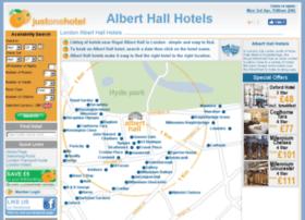 alberthallhotels.com