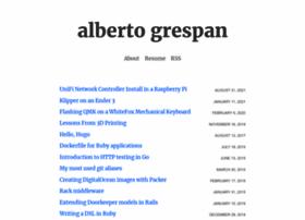 albertogrespan.com