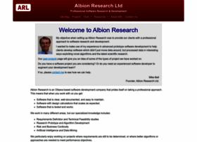 albionresearch.com