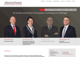 albrechtundpartner.de