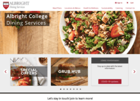 Albright.campusdish.com