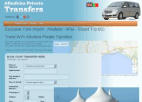 albufeiraprivatetransfers.com