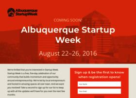 albuquerque.startupweek.co