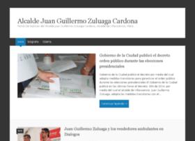 alcaldejuanguillermozuluagacardona.com