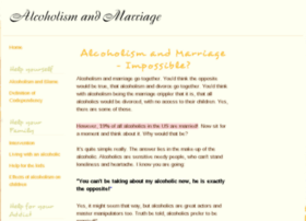 alcoholismandmarriage.net