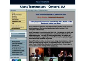 alcott.toastmastersclubs.org